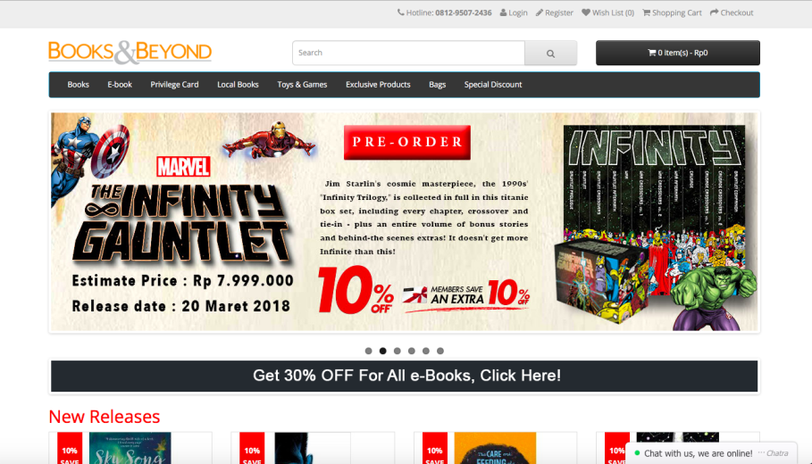 Five Best Online Stores to Shop for English Books From Indonesia