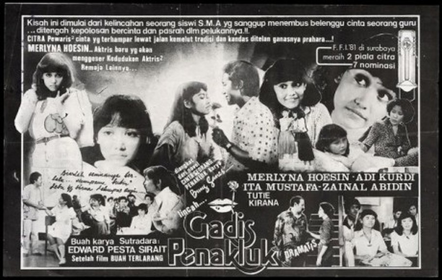 'Gadis Penakluk' flyer. (Photo courtesy of Garuda Film via filmindonesia.or.id)