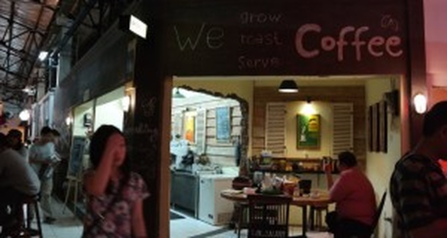 Located in gentrified Pasar Santa, Kopi GayoBies sells Gayo coffee from Aceh. (Photo courtesy of Gayobies)