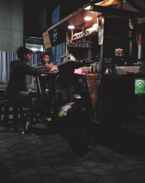 Hawker-style coffee shop Kopi Guyon in Fatmawati, South Jakarta. (Photo courtesy of Kopi Guyon)