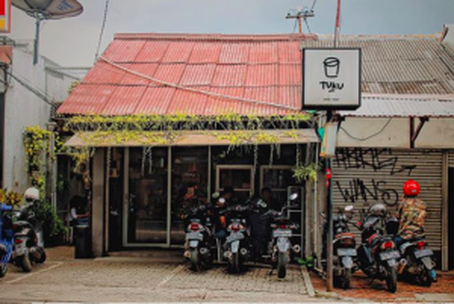 The first branch of Tuku coffee shop in Cipete, South Jakarta. (Photo courtesy of Tuku)