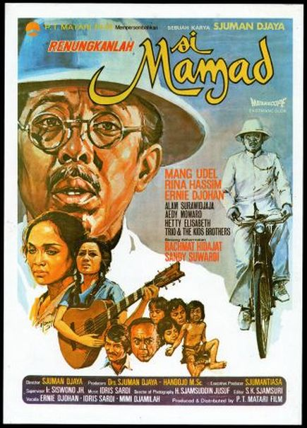 'Si Mamad' flyer. (Photo courtesy of Matahari Film via filmindonesia.or.id)
