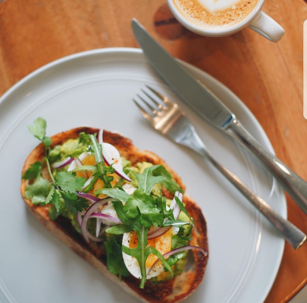 Avocado Toast at 1/15 Coffee. (Photo courtesy of 1/15 Coffee)