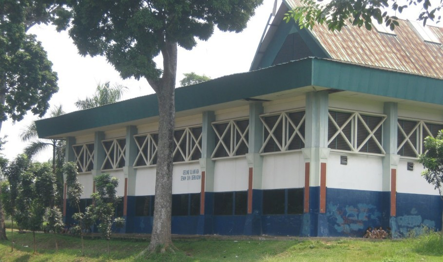 A gym building at the school's complex. (Photo courtesy of Blogspot.com/Ekosmpsmaragunan)