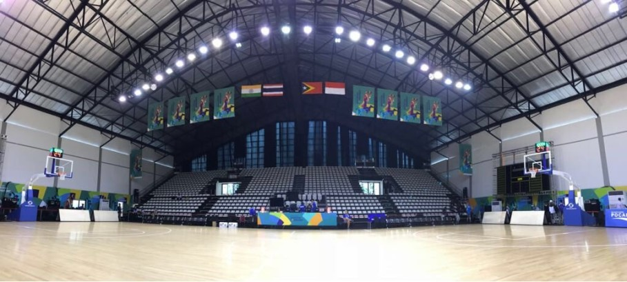 Gelora Bung Karno Basketball Hall. (Photo courtesy of Inasgoc)