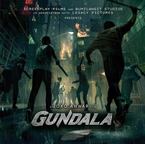 The teaser poster for 'Gundala.' (Photo courtesy of Screenplay FIlms)