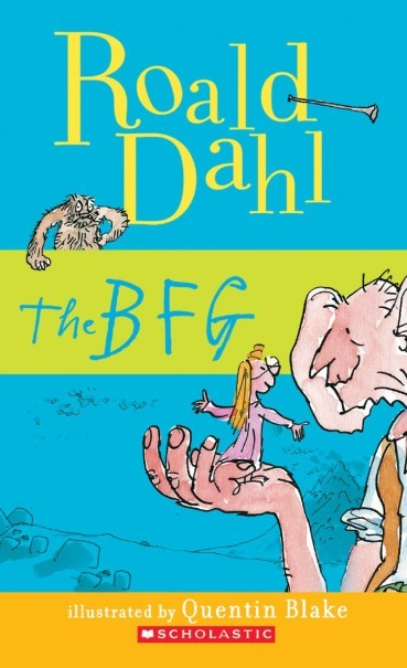 'The BFG' by Roald Dahl. (Photo courtesy of Scholastic)