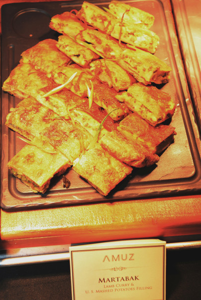 Potato martabak by Chef Stefu. (Photo Courtesy of US Embassy)