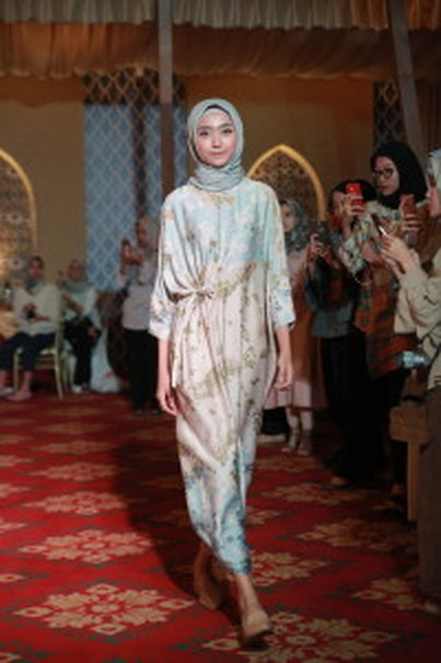 A caftan dress in Kami's 'Mara' collection. (Photo courtesy of Kami)
