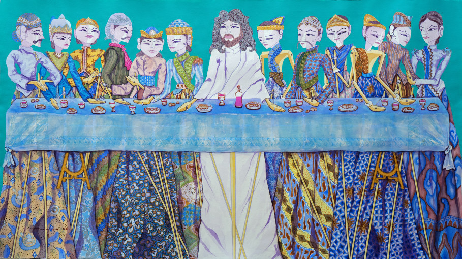 'The Last Supper' in CYAN. (Photo courtesy of Sasya Tranggono)