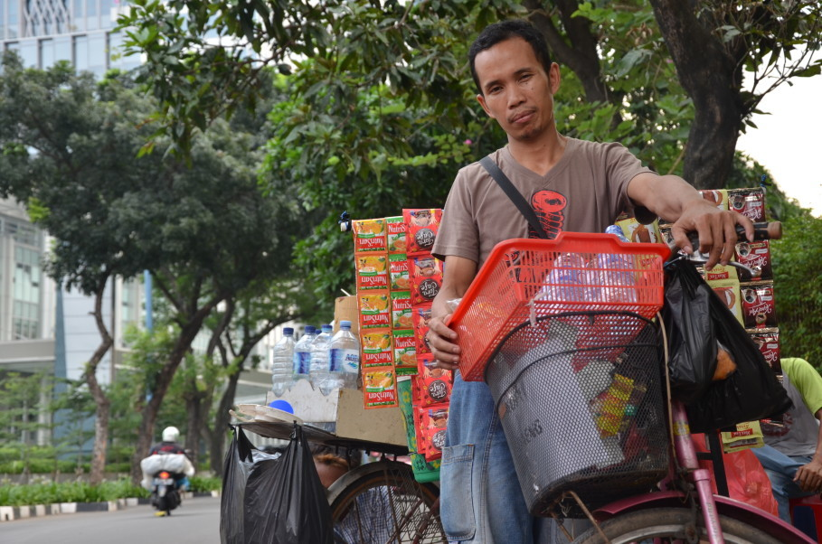 Soft-spoken Andi started his Starbike with just Rp 50,000 in his pocket. (JG Photo/Cahya Nugraha)