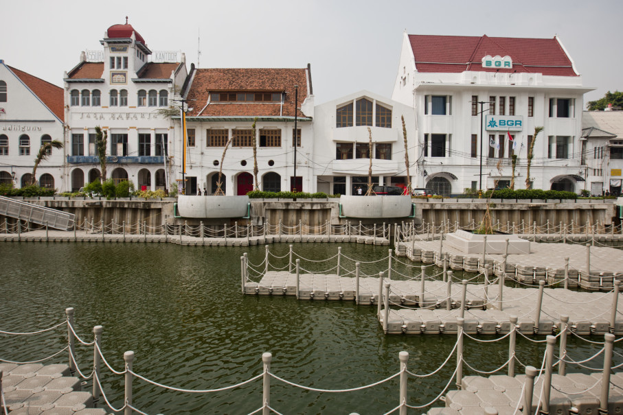 The canal was cleaned and made visitor-friendly. (JG Photo/Yudha Baskoro)