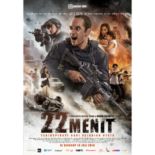 "The official poster of ""22 Menit."" (Image courtesy of Buttonijo Films)"