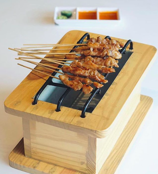 Sate Taichan. (Photo courtesy of Warung Bos)