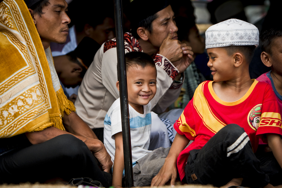 Many children are dealing with the loss of family members or friends. (JG Photo/Yudha Baskoro)