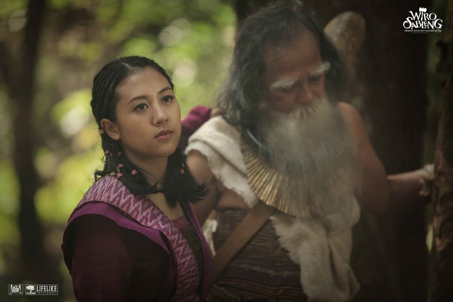 Anggini and the Drunken God. (Photo courtesy of Lifelike Pictures)
