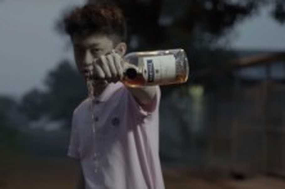 "A still image in ""Dat Stick"" by Rich Chigga. (Image courtest of Rich Chigga)"