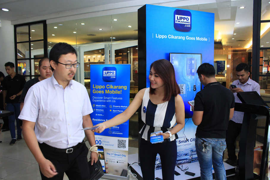 First Media's 7th NeXt Gen Experience addressed especially to Lippo Cikarang's fast growing population. (ID Photo/Emral)
