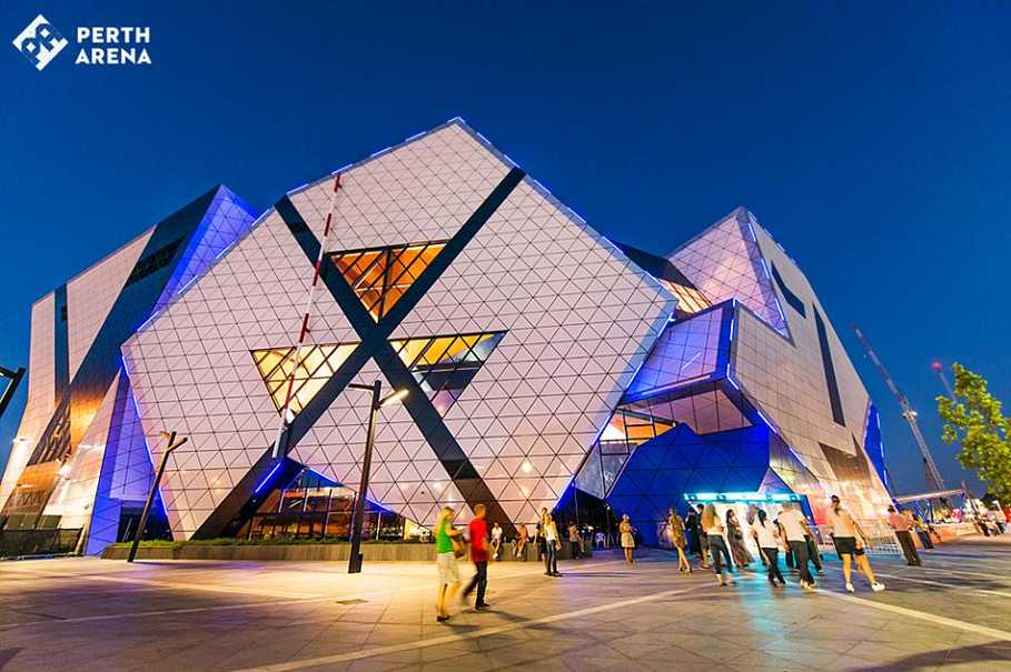 Perth Arena has housed the concerts of international superstars, such as Bruce Springsteen, Beyoncé, Elton John, The Rolling Stones, and Katy Perry. (Photo courtesy of Perth Arena)