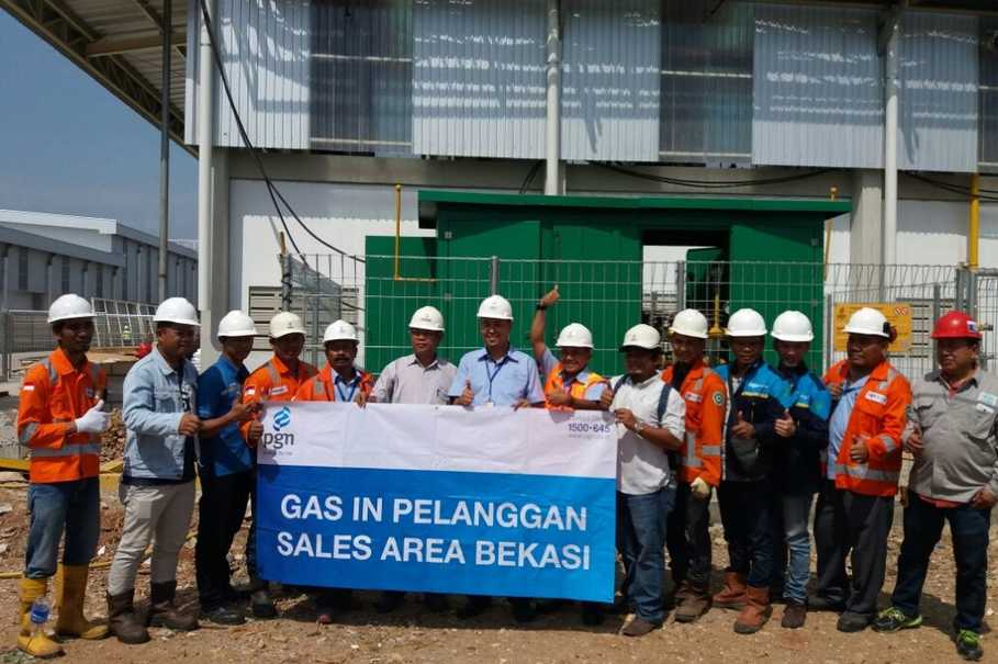 Perusahaan Gas Negara operates more than 7,270 kilometers of gas pipelines, or 80 percent of total downstream gas pipes in the country. (Photo courtesy of PGN)