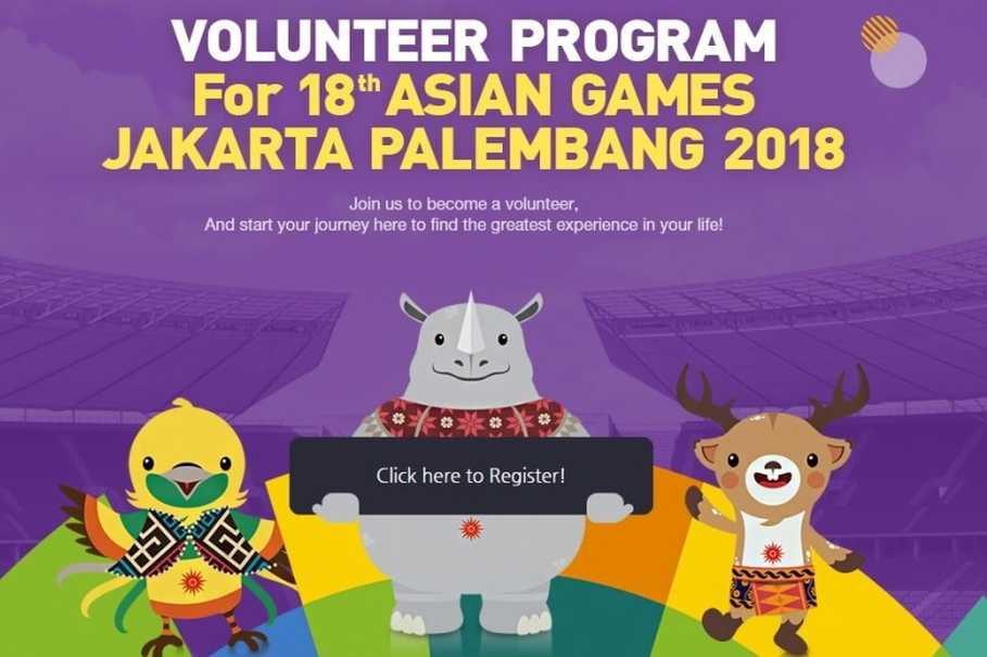 Inasgoc Launches Web Portal For  Asian Games Volunteers