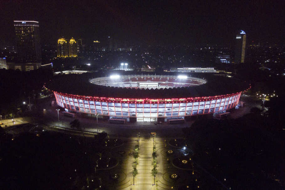 Gelora Bung Karno Main Stadium Ready for 2018 Asian Games ...