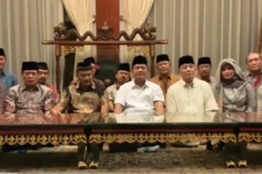 Prabowo Releases Video Calling for Peaceful Protest Against Election Results