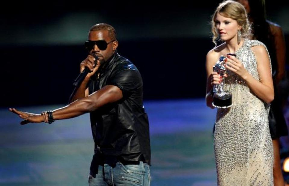Bffs No More Kanye West Taylor Swift Feud Over His Famous Song