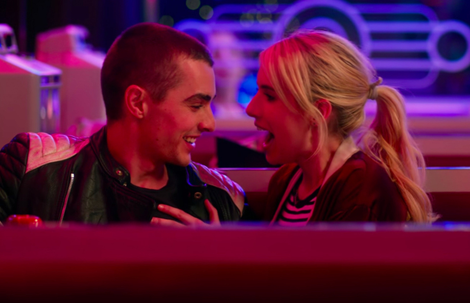 Dave Franco And Emma Roberts Promote Nerve At Comic Con