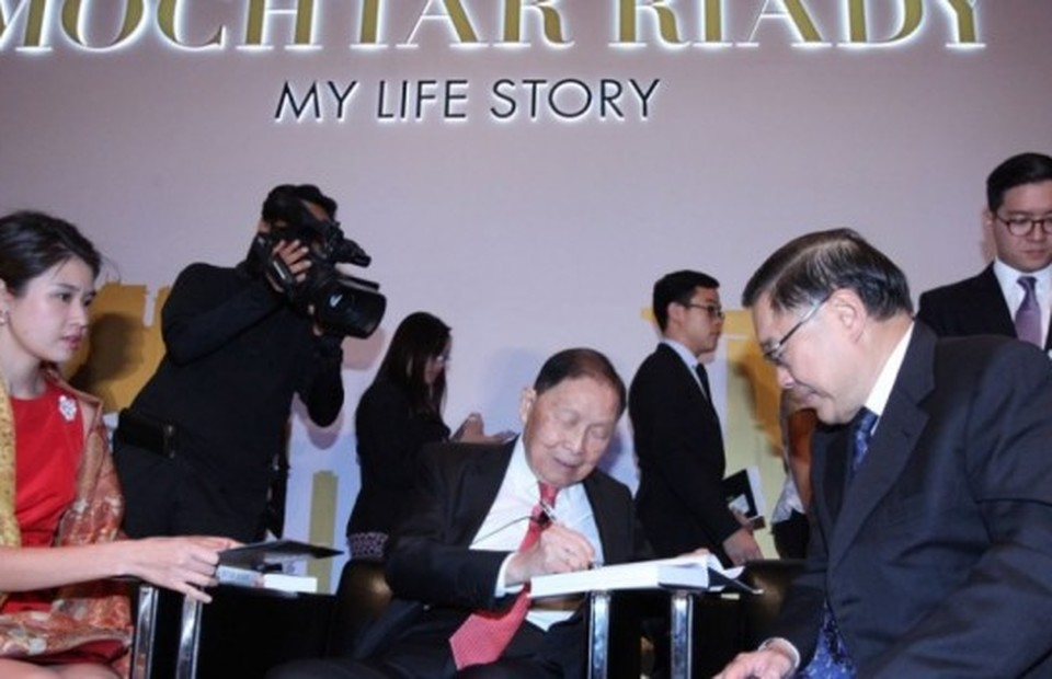 Mochtar Riady: My Life Story' Launched in Singapore