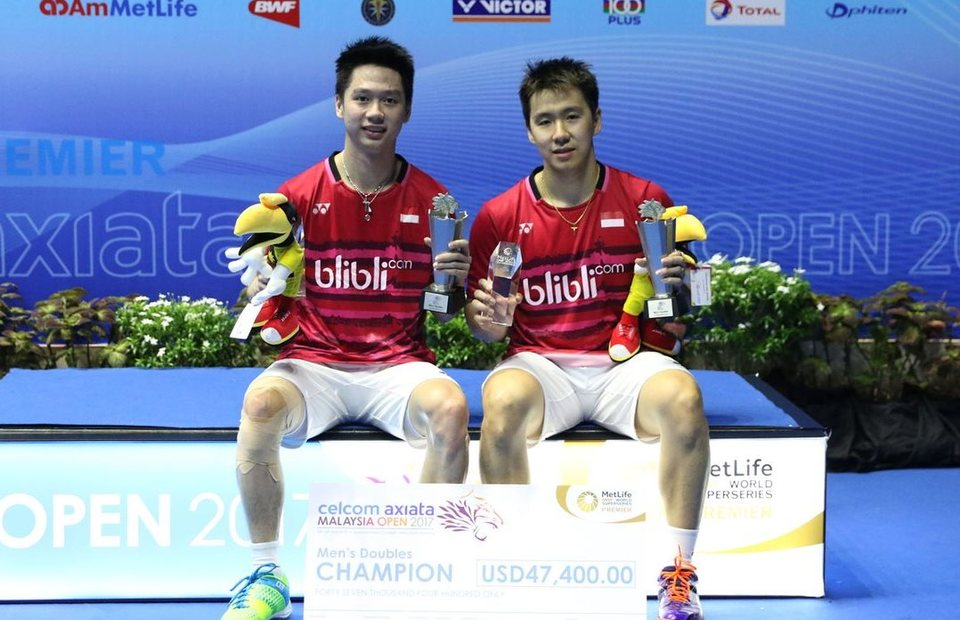 Men S Badminton Doubles Pair Earn Massive Praise After Clinching Hat Trick At Malaysia Open