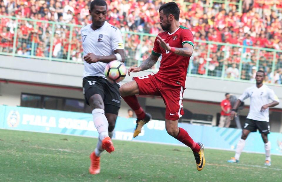 Indonesia Held to Goalless Draw by Fiji, Supporter Killed by Flare