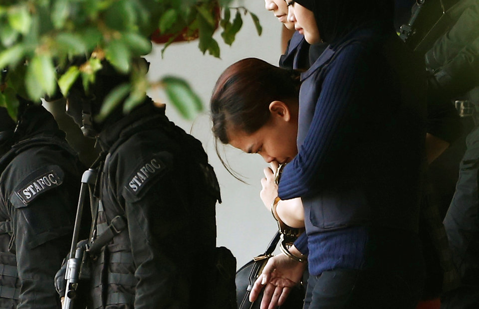 Two Women Plead Not Guilty to Killing North Korean Leader's