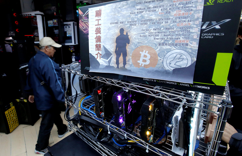 Main business for cryptocurrency miner