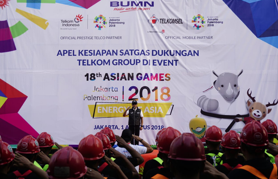 Telkom Ready To Provide ICT Services During Asian Games
