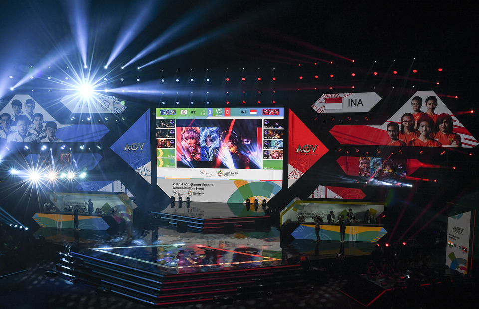 Esports Given a Boost by Asian Games Debut
