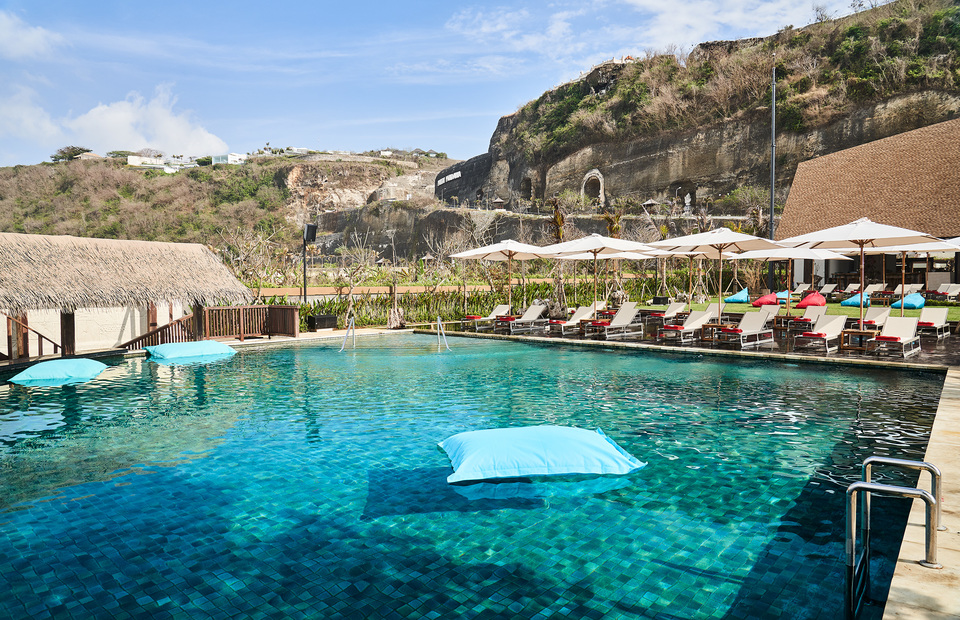 Roosterfish First And Only Beach Club On Bali S Pandawa Beach