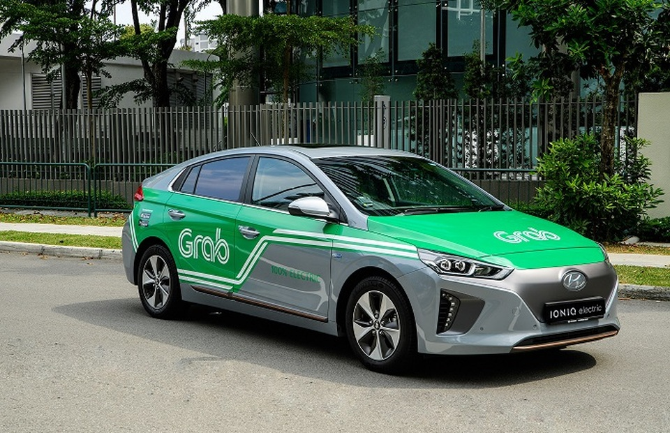Last year, Hyundai announced a $250 million investment in Southeast Asian ride-hailing firm Grab, to develop electric vehicles in the region. (Photo courtesy of Grab)