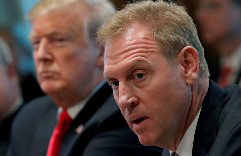 For Shanahan A Very Public Debut In Trump S Cabinet