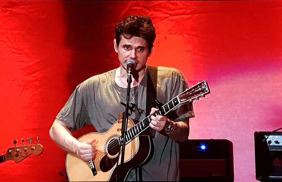 John Mayer performed to 10,000 crowds at Indonesia Convention Exhibition, BSD City, Tangerang, Friday 5 April 2019. (JG Photo/Nur Yasmin)