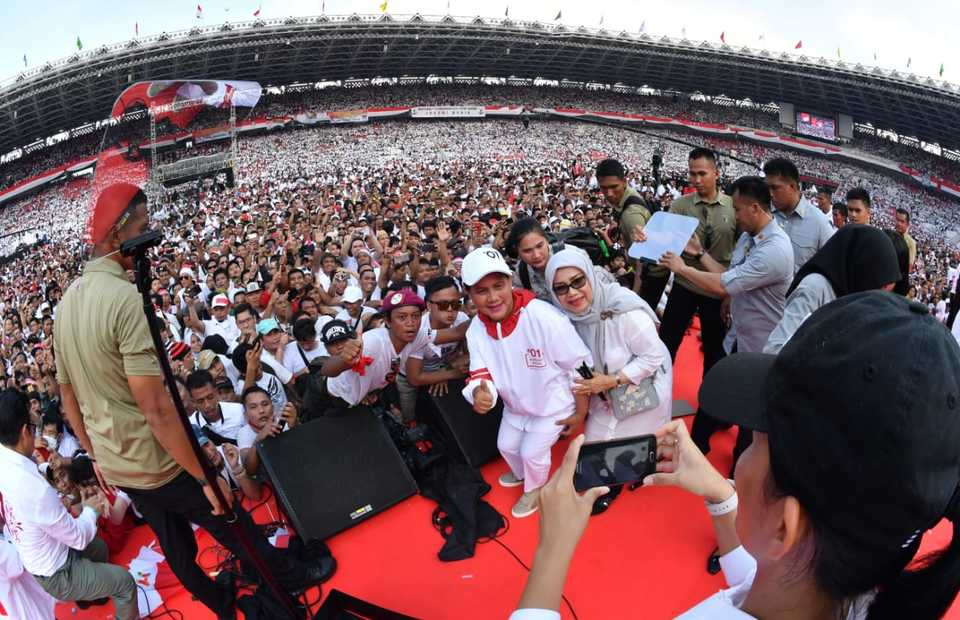 Jokowi rally (Photo courtessy of TKN)