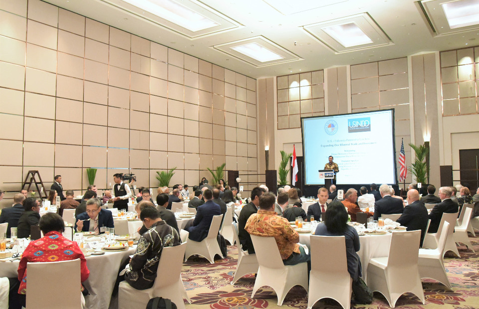 AmCham Indonesia and the US-Indonesia Society (Usindo) held an exclusive lunch meeting on Thursday that was attended by Indonesia