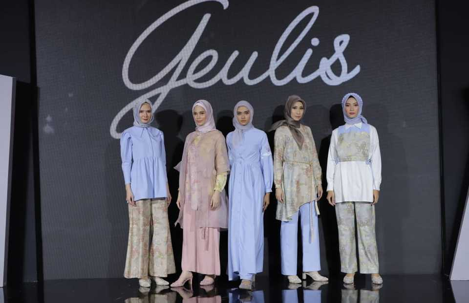 Geulis collection at the annual Muslim Fashion Festival, or Muffest, at Kota Kasablanka mall in Jakarta on March 27, 2021. (Photo Courtesy of APR)