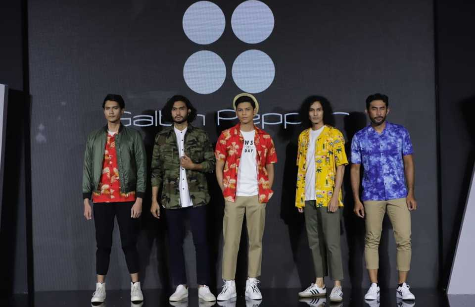 Salt N Pepper collection at the annual Muslim Fashion Festival, or Muffest, at Kota Kasablanka mall in Jakarta on March 27, 2021. (Photo Courtesy of APR)