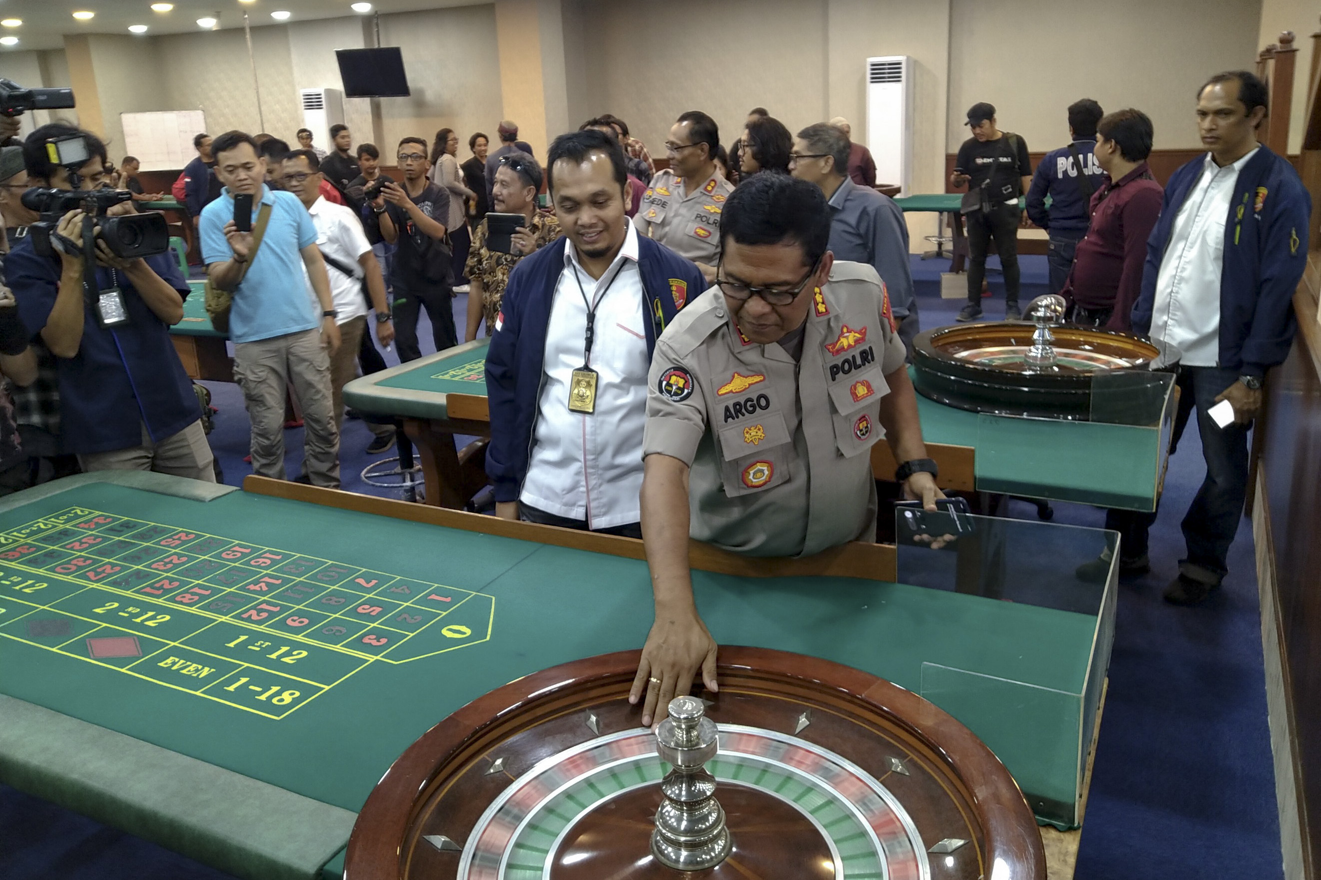 Inside North Jakarta's Secret Casino
